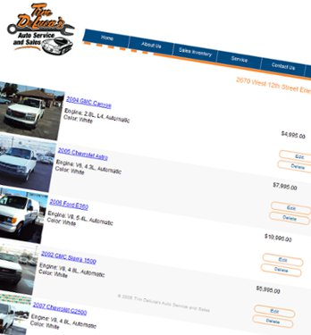 Tim Deluca's Auto Service and Sales - Erie Pa
